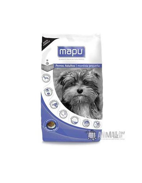 Mapu perro adultos Mordida Pequeña x 9 kg