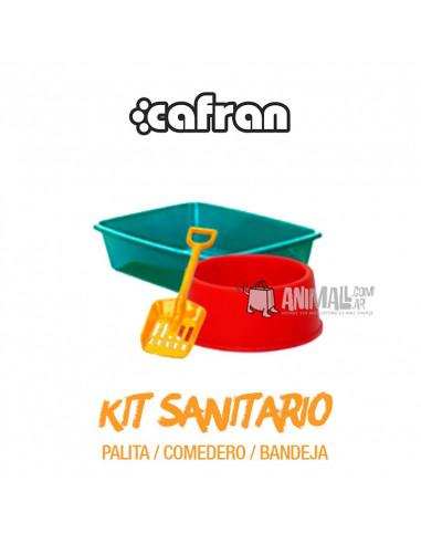 Kit sanitario gatos