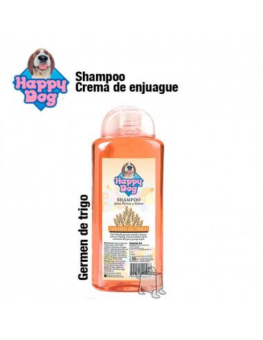 Happy dog shampoo germen de trigo x 500 cc