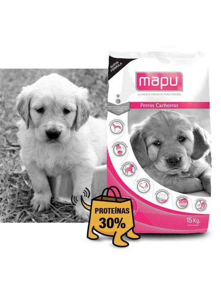 Mapu premium perros cachorros x 15 kg