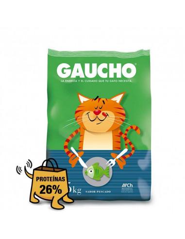 Gaucho gatos pescado x 10 kg
