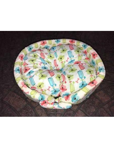 Moisés de tela para perros. Mediano diámetro 50 cm
