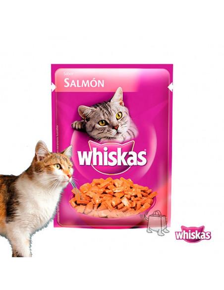 Whiskas Húmedo Sobre Salmón x 85kg