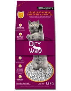 Dry Way Piedra Sanitaria para gatos x 4,6 lt