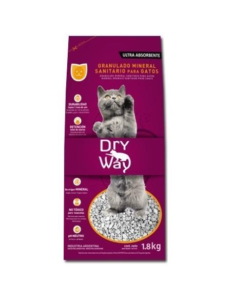 Dry Way Piedra Sanitaria para gatos x 4,6 lt