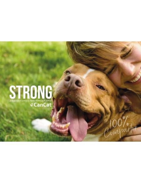 bola strong cancat para perros
