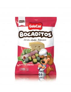 Golocan Bombon Jamón, Queso y Espinaca