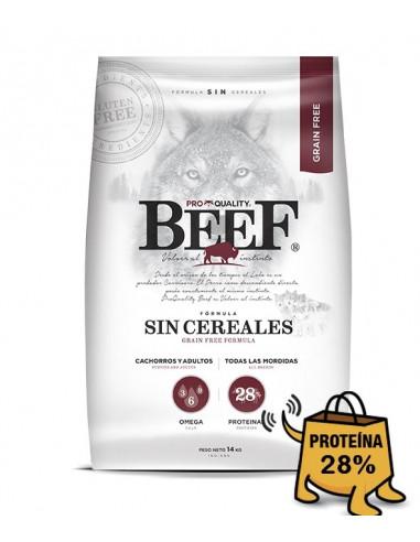 BEEF sin cereales bolsa x 14 kg
