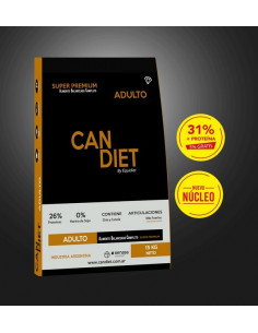 Can Diet Super Premium Adultos x 15 kg