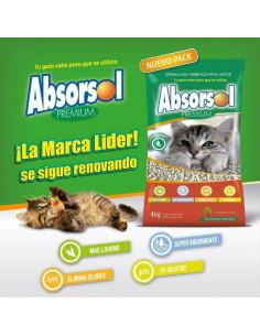 Absorsol Premium VERDE 6x2 kg