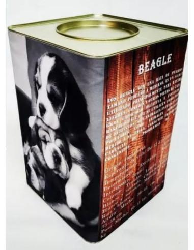 Beagle Lata Contenedora Alimento Gold x 7.5 kg