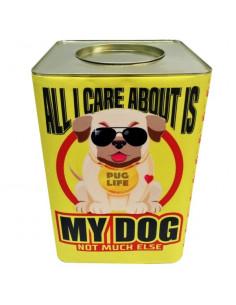 Lata Alimentos Vintage Dog Buldog Amarillo x 7.5 kg