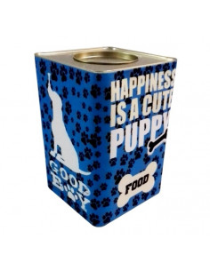 Lata Alimentos Vintage Dog Azul x 7.5 kg