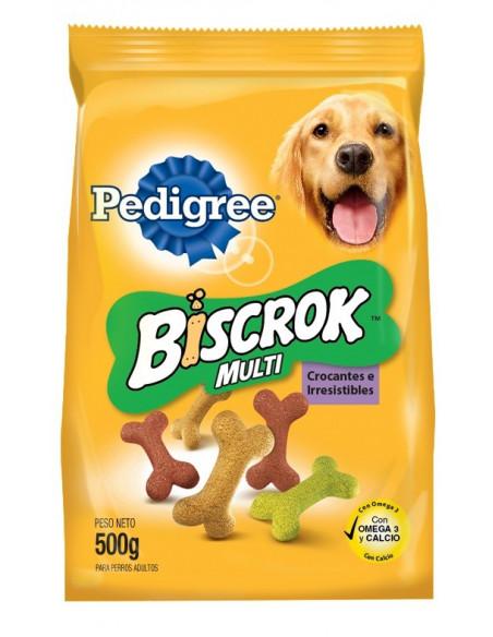Pedigree Biscrok Multi Galletas x 500 gr