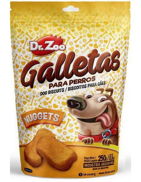 Dr. Zoo Galletas Nuggets Para Perros x 250 gr