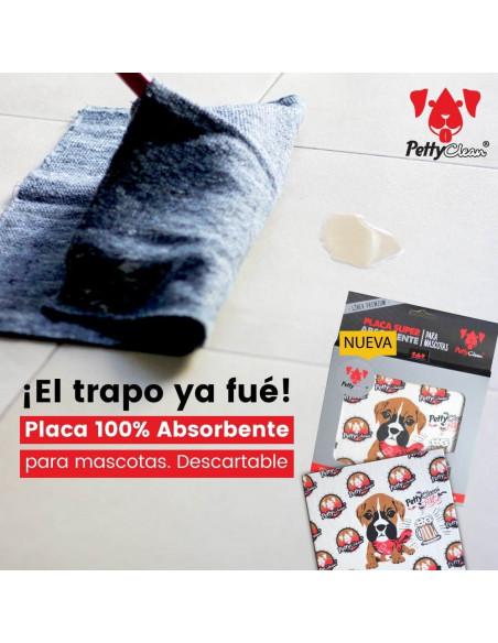 Placa Super Absorbente Para Mascotas Petty Clean