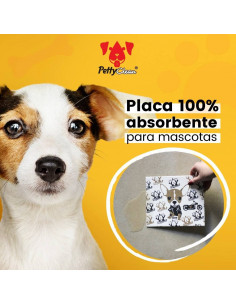 Placa Super Absorbente Para Mascotas Petty Clean