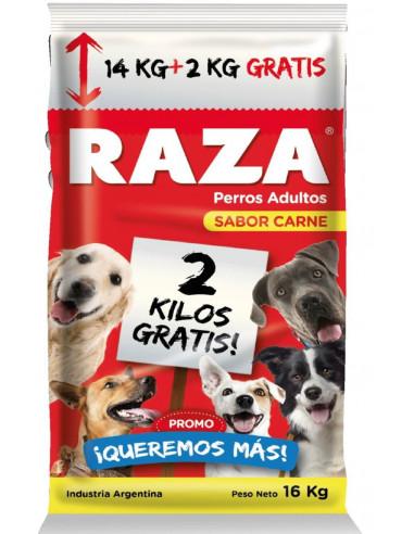 Raza Perro carne 14+2 kg