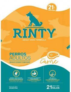 Rinty Perro Adulto Sabor Carne x 15 kg