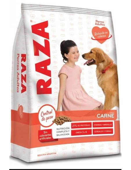 Raza Perros Adultos sabor Carne Light x3Kg