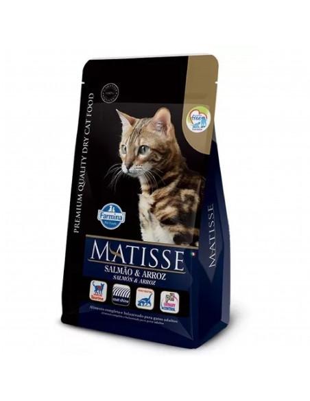 Matisse  Gato Salmon y Arroz x 7.5 kg