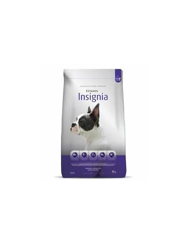 Estampa Insignia Perro adulto Raza Pequeña x 3 kg