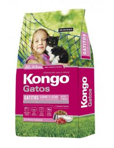 Alimento Gato Kongo Gourmet Adulto Carne/Pollo - 8 Kg