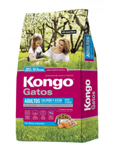 Kongo Gourmet Gatos Salmón y Atún