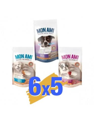 Pack x 6 un Mon Ami Dental Milk Stick x 75 gr