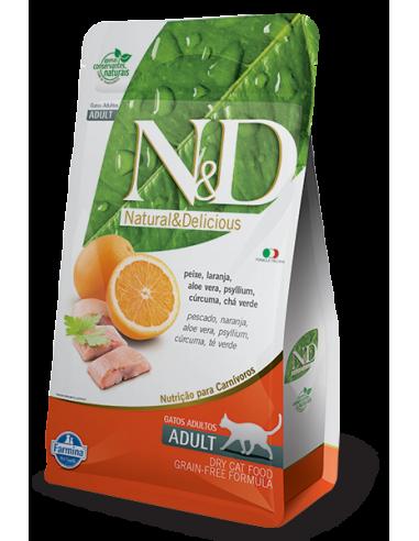 N&D GRAIN FREE FELINE ADULTO -...