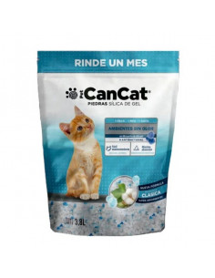 Piedra Silica Gel para Gatos Can Cat Clasica x 3.8 lts