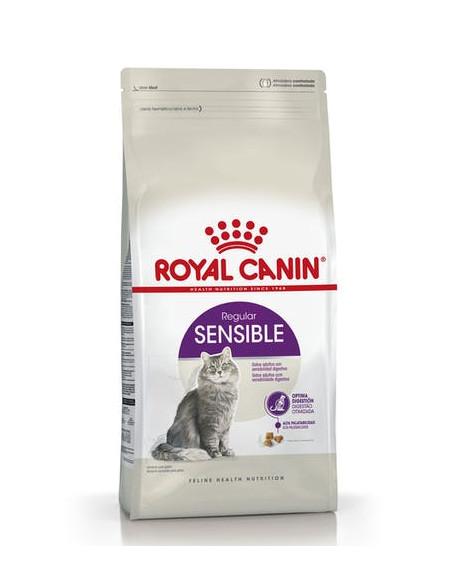 Royal Canin Gatos Sensible 33 x 7.5 kg