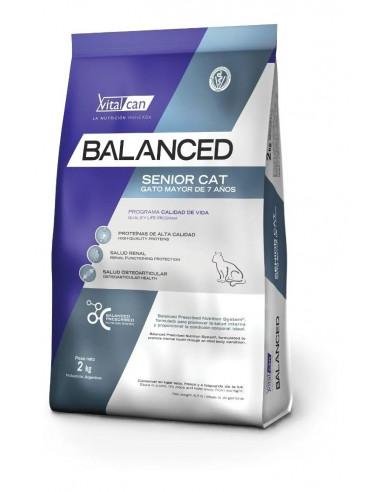 Balanced Gato Senior x 7,5 kg.