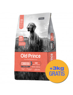 Old Prince Proteínas Noveles Cordero Dog Medium & Large Breeds 15+3 kg