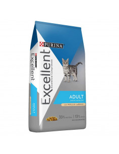 Excellent Cat Gatos Adultos x 3  kg