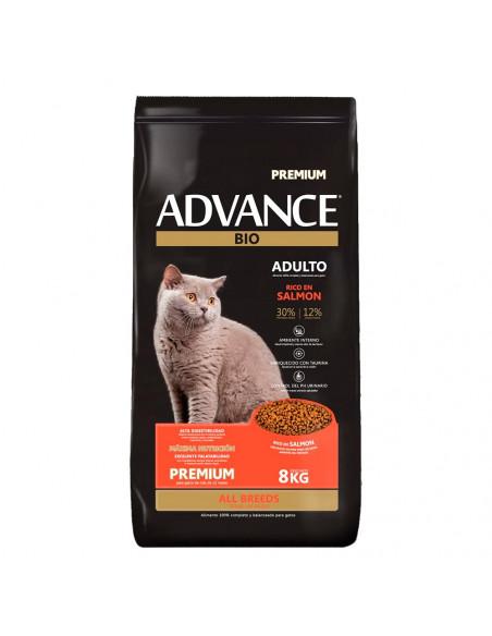 Advance Gatos Adultos Todas las Razas Premium x 8 kg