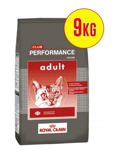 Performance gatos adultos x 7,5 + 1.5 kg de regalo