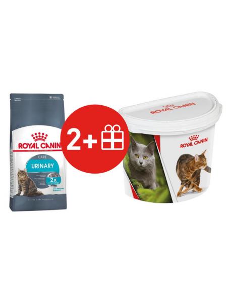 2 Royal Canin Gatos Urinary Care x 1,5 kg + 1 CUÑETE DE 4kg de REGALO. 1 cuñete