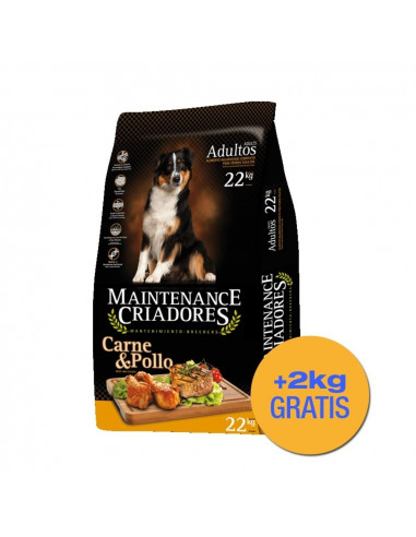 Maintenance Criadores Perros Adultos x 22+2kg de Regalo!