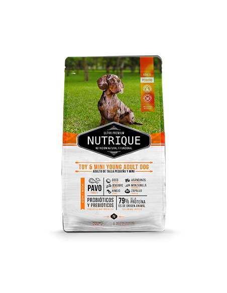 Nutrique Toy & Mini Young Adult Dog