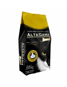 Alta Gama Negra x 3.6 Kg piedra sanitaria para gatos