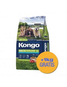 Kongo Natural Perros Adultos Medianos y Grandes x 3+1 kg de Regalo!