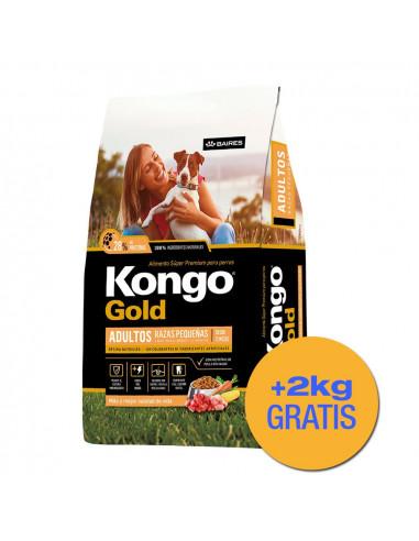 Kongo Gold Perro Adulto Mordida...