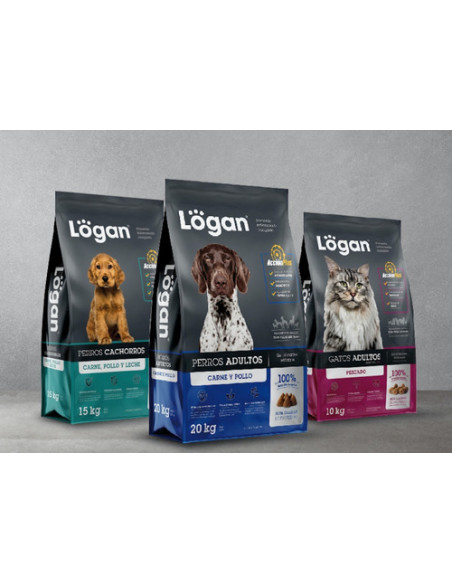 Logan Gatos Adultos Premium x 10 kg