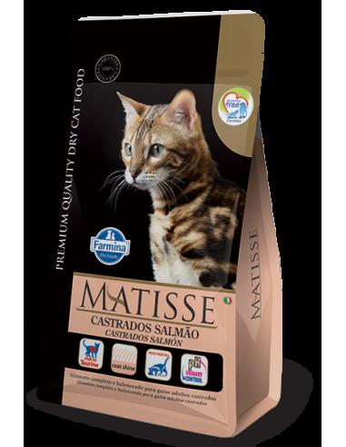 Matisse Gatos Castrados Salmón x 7.5 kg