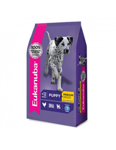Eukanuba Puppy Medium x 15 kg
