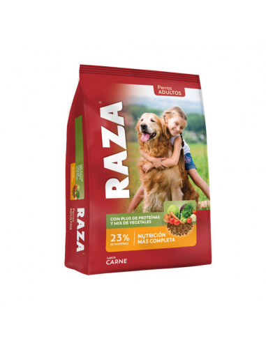 Alimento Raza Perros Adultos Mix de Vegetales x 21 kg