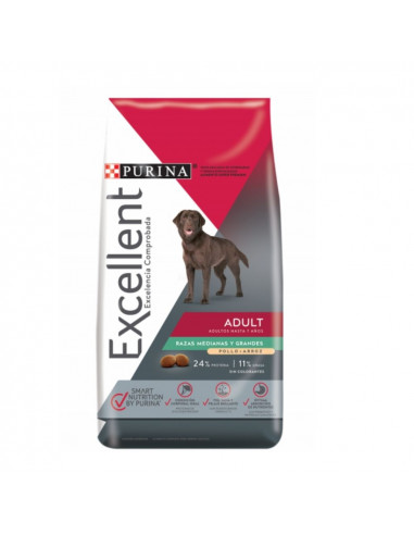 Excellent Adult Chicken & Rice Medium & Large Breed x 20 kg