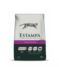 Estampa Plus Gatos Adultos x 15 kg