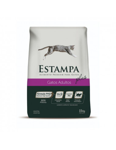 Estampa Gatos Adultos x 8 kg